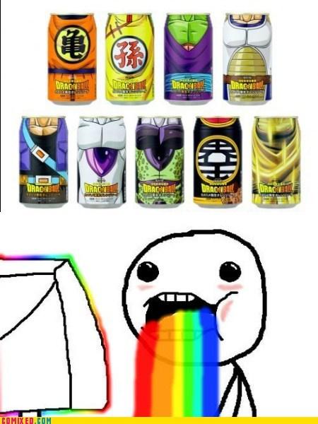 best of week,cartoons,Dragon Ball Z,energy drinks,rainbow,TV