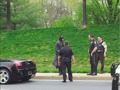 Batman Traffic Stop of the Day