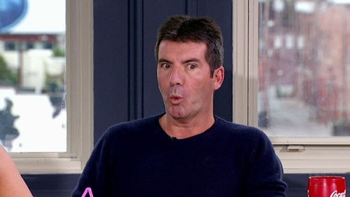 Simon Cowell's Surprise Intruder of the Day