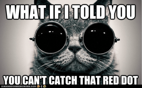 glasses,laser pointers,lasers,Memes,Morpheus,movies,red dot,the matrix