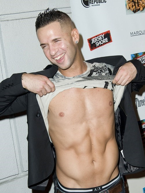 The Situation's Abs Banned From Rehab of the Day