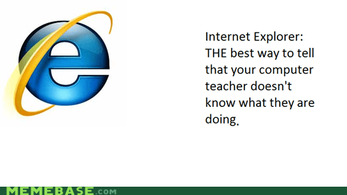 Internet Explorer: Instant Tune-Out Browser