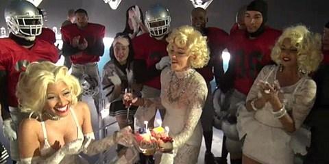 Madonna And Nicki Minaj's Kiss of the Day
