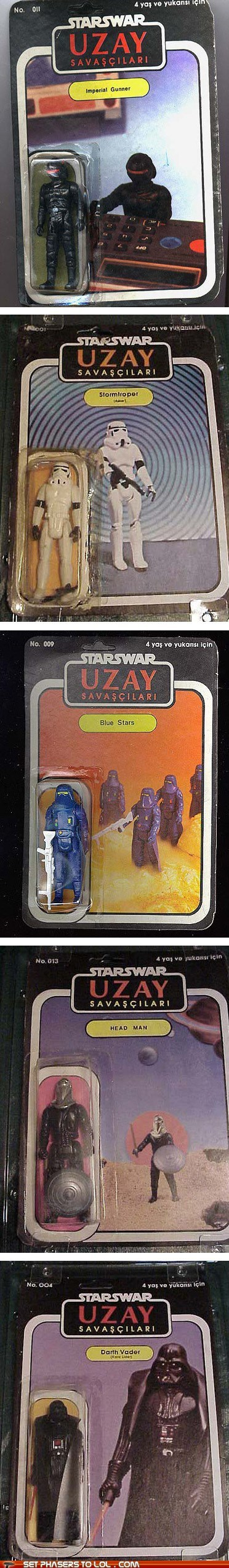 Bootleg Star Wars Action Figures