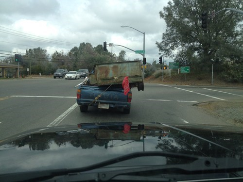 bandanna,red flag,tire,trailers,wheel