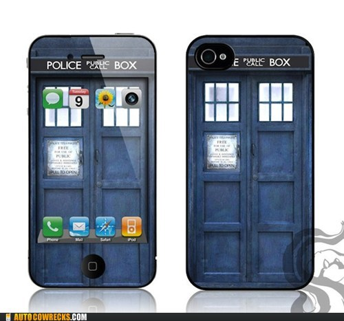 Autocowrecks: Tardis Case and Wallpaper WIN