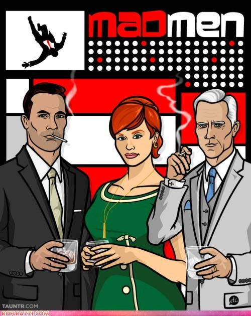 "If ""Mad Men"" Characters Were on ""Archer"""