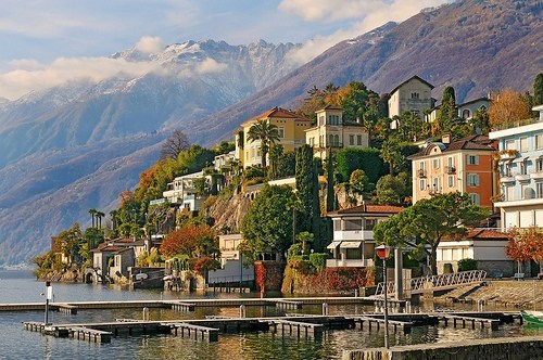 Lake Village, Ascona, Switzerland