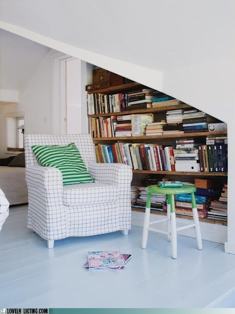 Your Daily Bookcase: Tucked Away