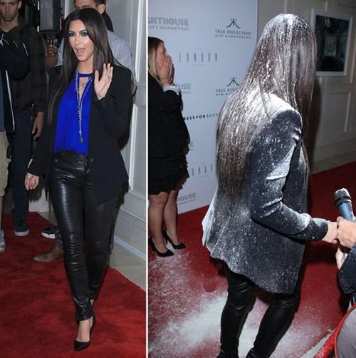 Kim Kardashian's Flour Bomber Revealed of the Day