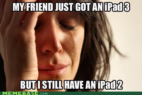 Some people don't have iPads. :o
