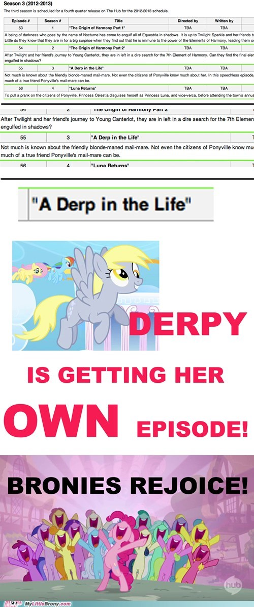 amazing,derpy hooves,derpy hooves episodes,new episode,season 3,TV