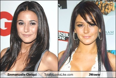 Emmanuelle Chriqui Totally Looks Like JWoww