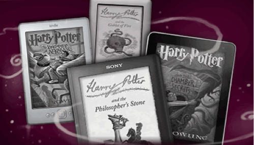 Harry Potter E-Book Launch of the Day