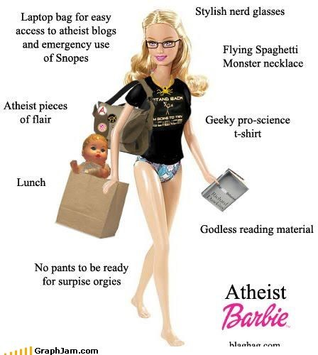 Atheist Barbie