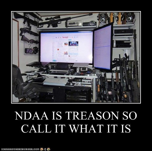 NDAA IS TREASON SO CALL IT WHAT IT IS