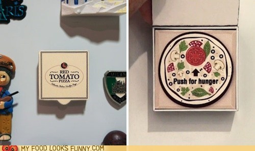 Magic Pizza Button