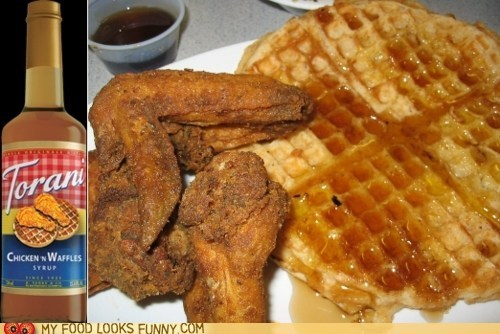 chicken and waffles,drinks,flavor,syrup,Torani