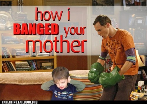 TV Show Mashup: How I Met Your Mother + The Big Bang Theory