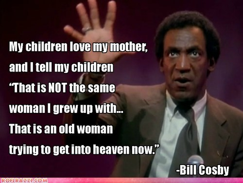 Bill Cosby on Grandmas