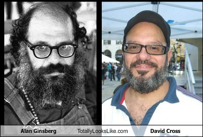 Alan Ginsberg Totally Looks Like David Cross