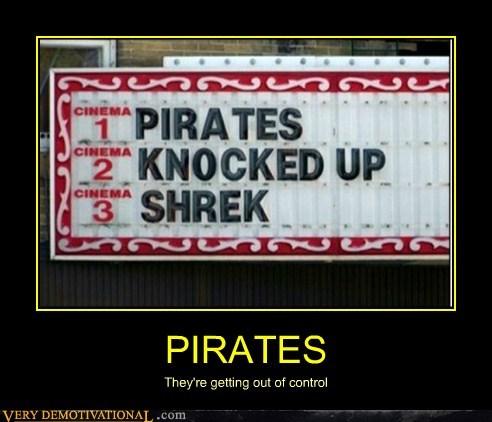 hilarious,pirates,shrek,sign,wtf