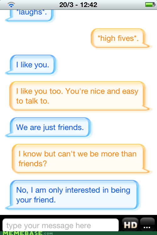 Friendzone Level: Cleverbot