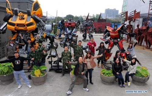 Chinese Transformers Theme Park of the Day
