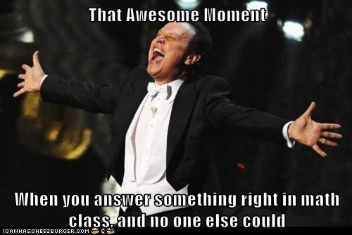 That Awesome Moment...