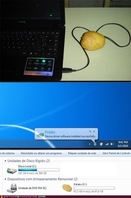 best of week,external,gladOS,hard drive,potato,wtf