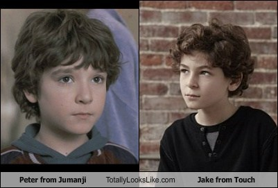 Peter from Jumanji Totally Looks Like Jake from Touch
