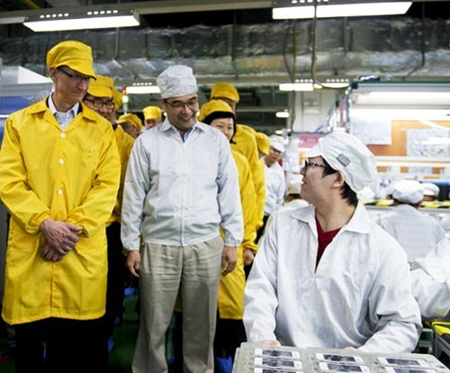 Apple CEO's China Visit of the Day