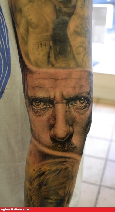 Tattoo WIN: Hugh Laurie is Watching