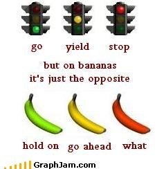 Bananas vs Stoplights