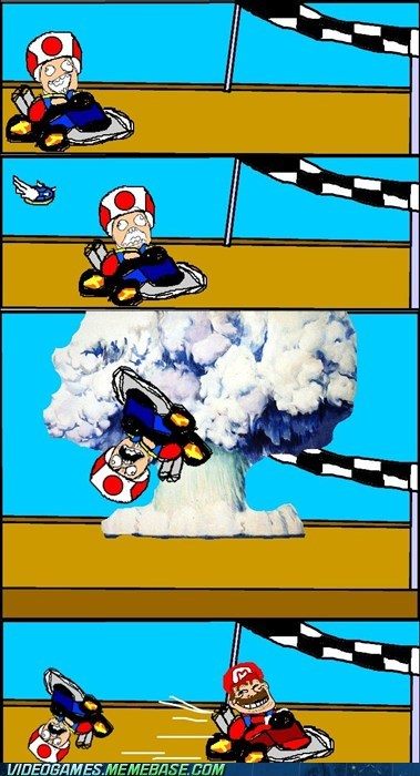 blue shells,comic,Mario Kart,rage