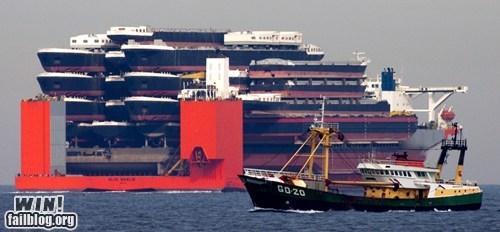 Ships Carrying Ships WIN