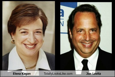 Elena Kagan Totally Looks Like Jon Lovitz