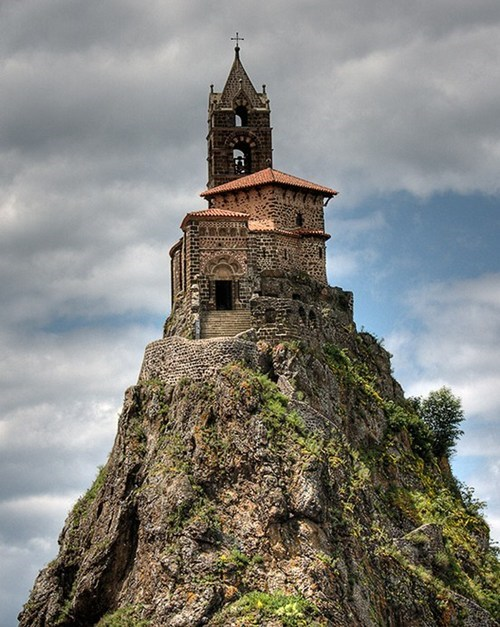 Saint-Michel d'Aiguilhe Chapel, Le Puy-en-Velay, France