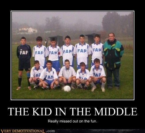 THE KID IN THE MIDDLE