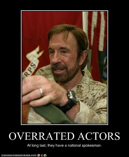 OVERRATED ACTORS