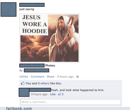 Failbook: Too Soon?