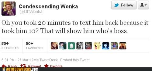 condescending wonka,k,tweet,twitter,waiting