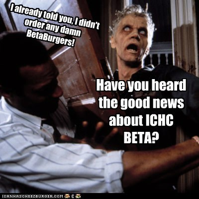Have you heard the good news about ICHC BETA?