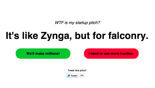 Awful Startup Pitch Generator of the Day