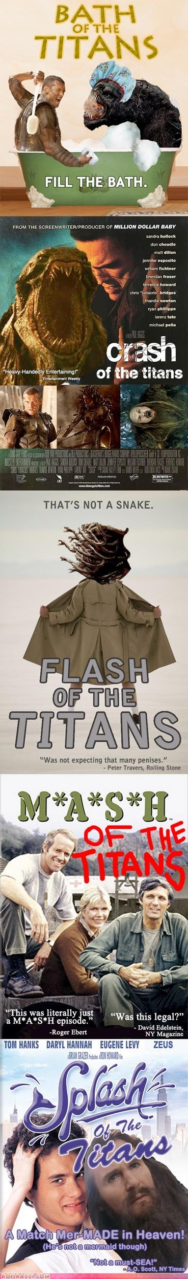 "Five Hilarious ""Clash of the Titans"" Sequels That Should be Made"