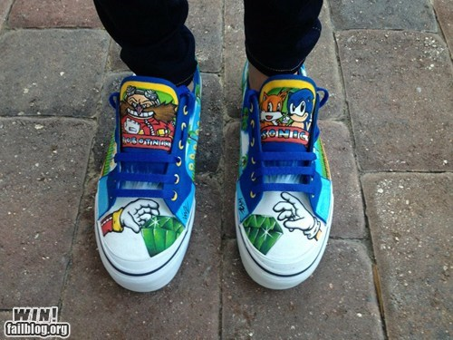 Sonic Shoes WIN