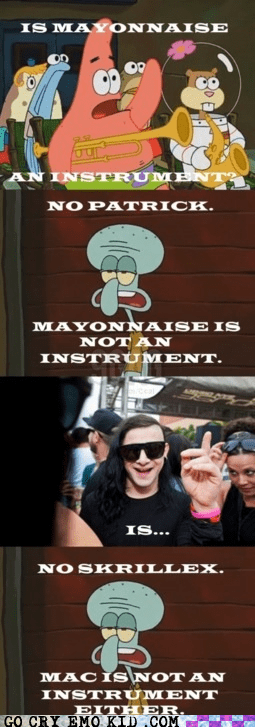 Mac Is Not an Instrument