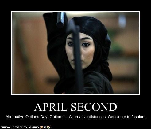 APRIL SECOND