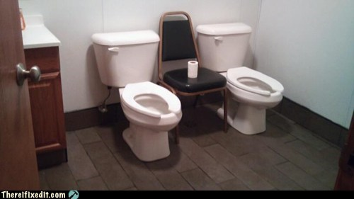 bathroom,chair,Game of Thrones,toilet,toilet paper,two-ply