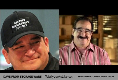 DAVE FROM STORAGE WARS Totally Looks Like MOE FROM STORAGE WARS TEXAS